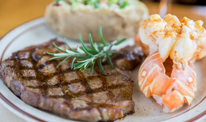 Steak Lobster